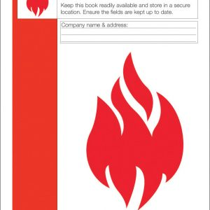 Click Medical Fire Safety Log Book