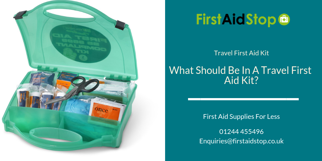 what should be in a travel first aid kit